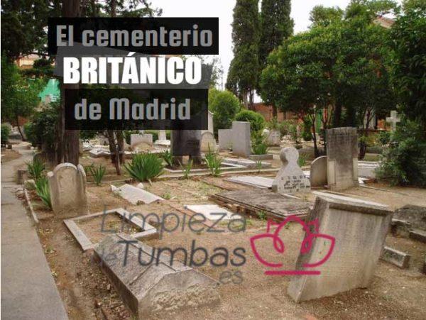 cementerio britanico madrid