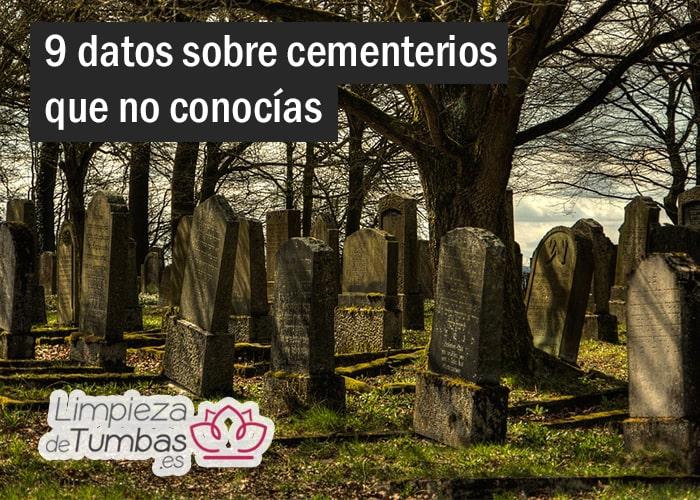 datos sobre cementerios