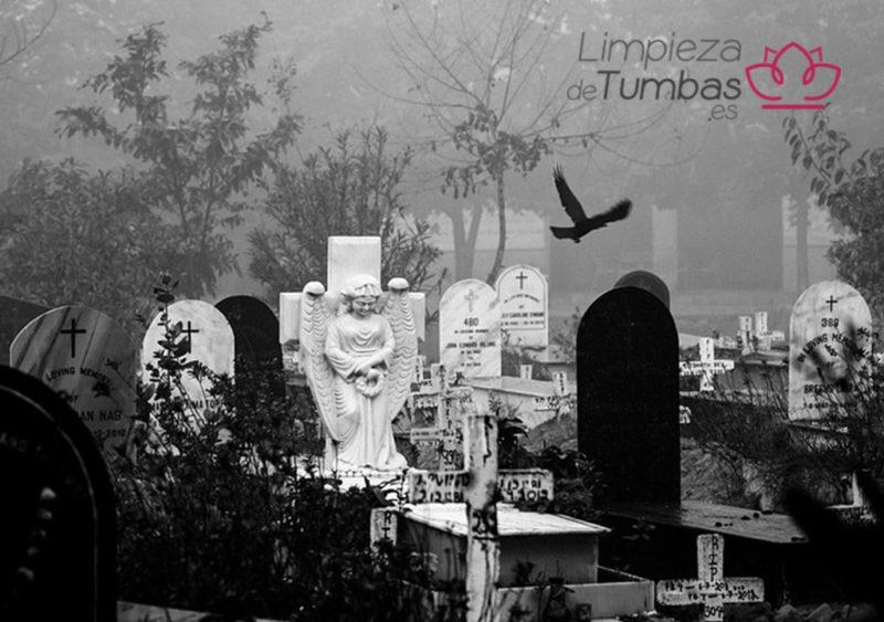 espeluznantes cementerios