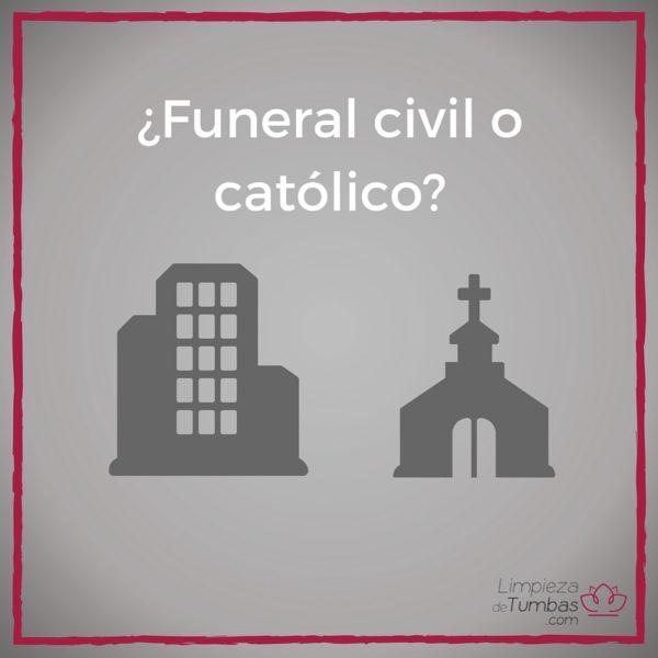 funeral civil o catolico