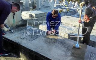 limpieza cementerio españa