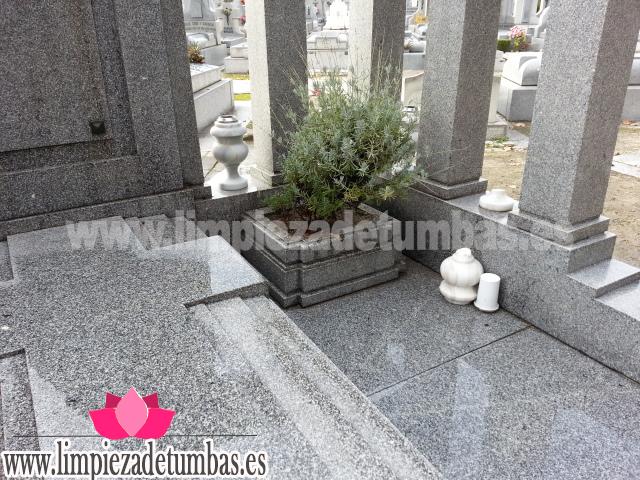 Limpieza Panteon Resultado