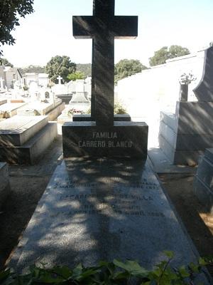 Tumba de Luis Carreno Blanco