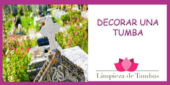 decorar una tumba