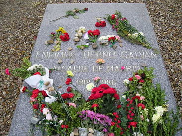 famosos enterrados en madrid