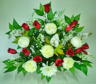 limpiar flores artificiales