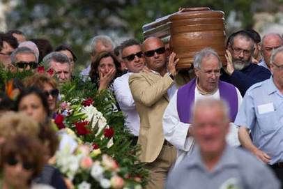 organizar un funeral