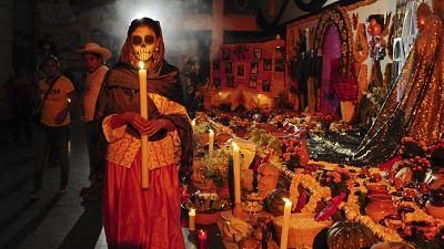 tumbas en dia de muertos