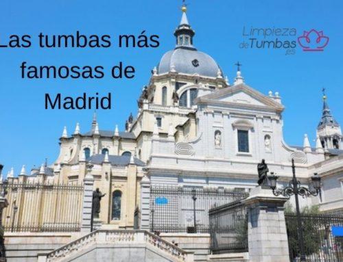Las tumbas más famosas de Madrid